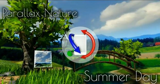Parallax Nature: Summer Day XL – мобильная частичка лета